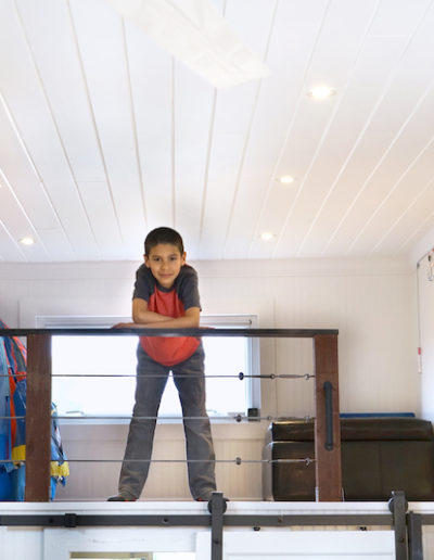 Big Tiny House Loft kid 2
