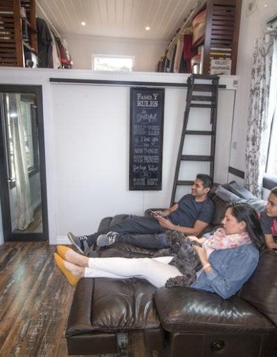 Big Tiny House Watching Moving