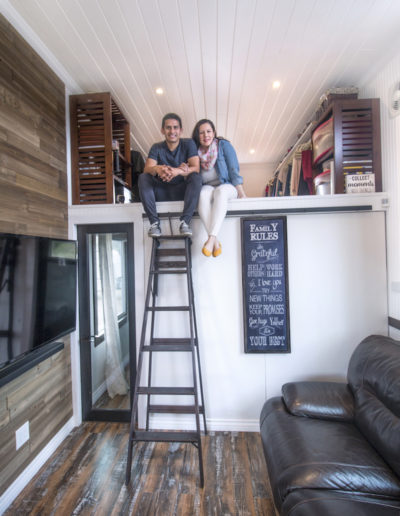 Tiny House Couple